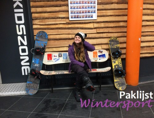 Paklijst wintersport