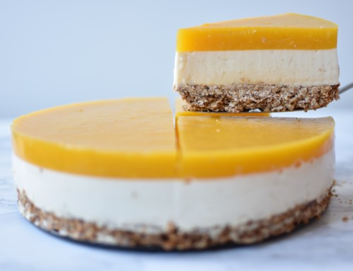 Food Friday: Vegan mango cheesecake