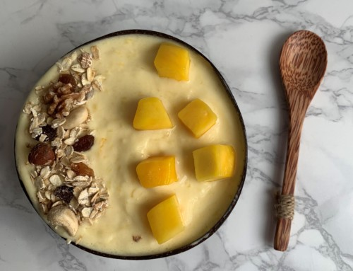 Food Friday: mango ananas smoothie bowl